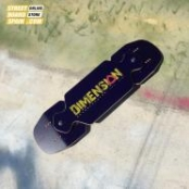 Tabla Dimension Streetboards YELLOW LOGO