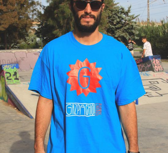 Camiseta Gazpacho Boards LOGO blue